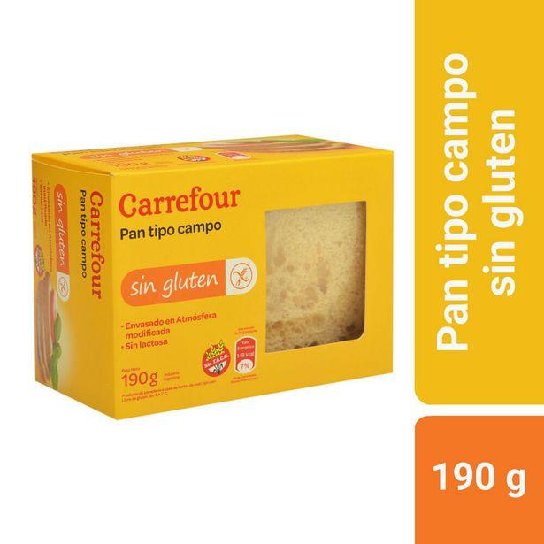 Oferta de Pan de campo Carrefour 190 g. sin TACC por $210,93
