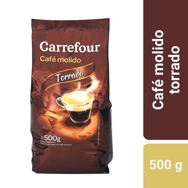 Oferta de Café molido Carrefour torrado 500 g. por $262,99