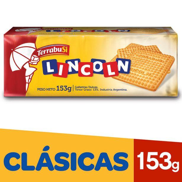 Oferta de Galletitas Terrabusi Lincoln clásicas 153 g. por $62,15