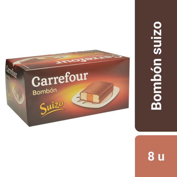 Oferta de Postre helado Carrefour bombón 776 g. por $611,1