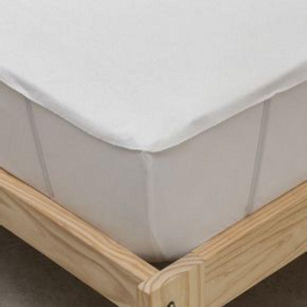 Oferta de Cubrecolchón King Size Impermeable Ajustable por $7599,2