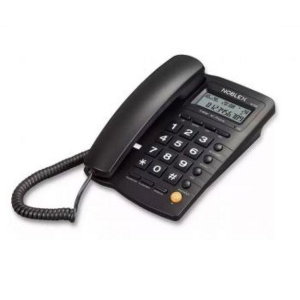 Oferta de TELEFONO FIJO NOBLEX NCT300 - 10 MEMORIAS MANOS LIBRES por $3989