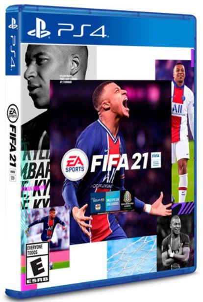 Oferta de JUEGO PARA PS4 FIFA 21 por $8999