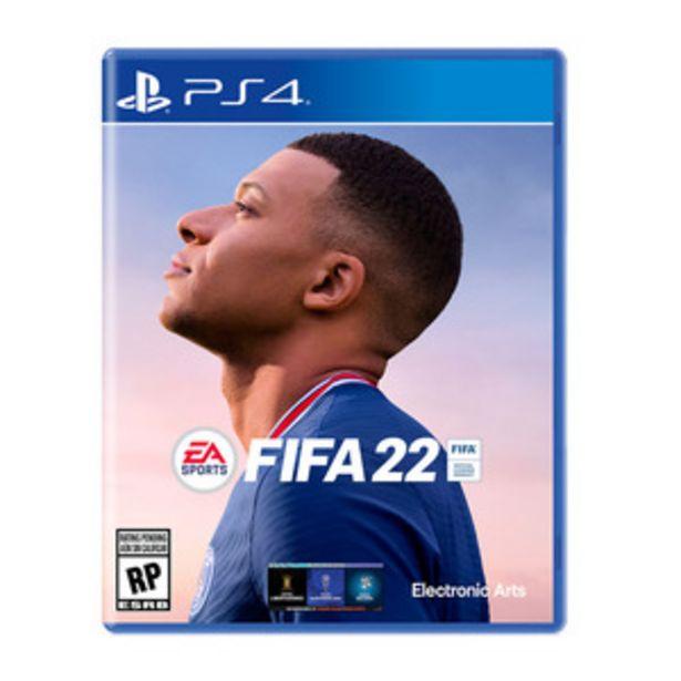 Oferta de JUEGO PARA PS4 FIFA 22 por $13399