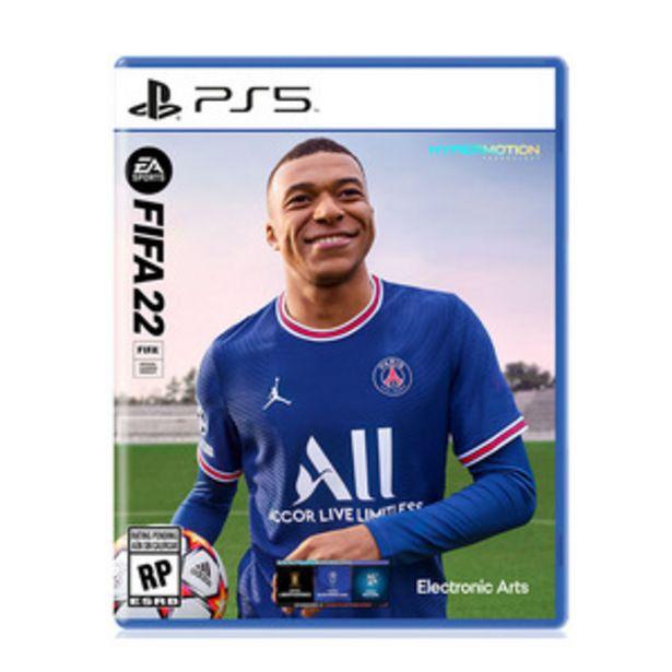 Oferta de JUEGO PARA PS5 EA - ELECTRONIC ARTS FIFA 22 por $16599