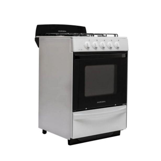Oferta de Cocina Aurora Argenta Le.4 Luz Horno/encendido Electrico/ C/valvula por $57622