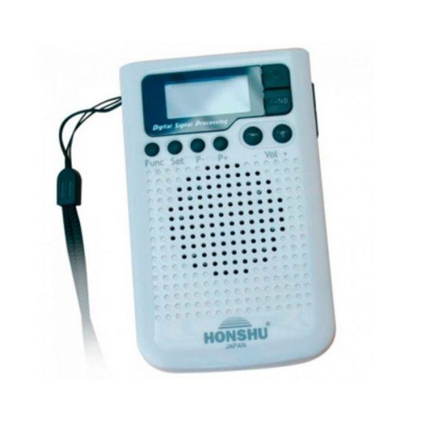Oferta de Radio Honshu H-203 Portatil Pocket Am/fm Sintonia Pll Dig/40 Mem/reloj/alarma por $2399