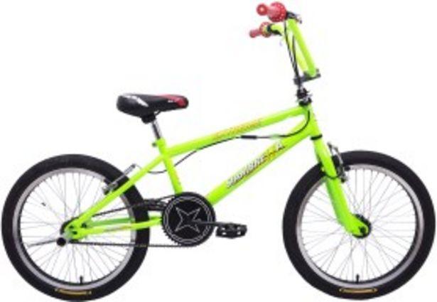 Oferta de Bicicleta Freestyle Fluo Verde Rodado 20 SIAMBRETTA por $22999