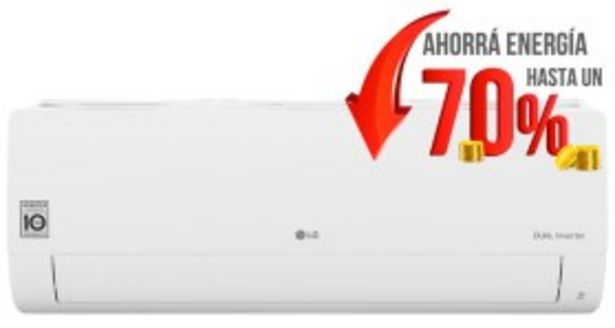Oferta de Aire Acondicionado Split Frio Calor Inverter 3027 Frigorias LG por $89999