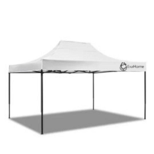 Oferta de Gazebo Exahome Autoarmable 45x3mts Blanco por $23999