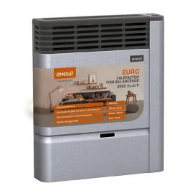 Oferta de Estufa emege Euro 2135 TB 3500 Kcal Multigas por $24999