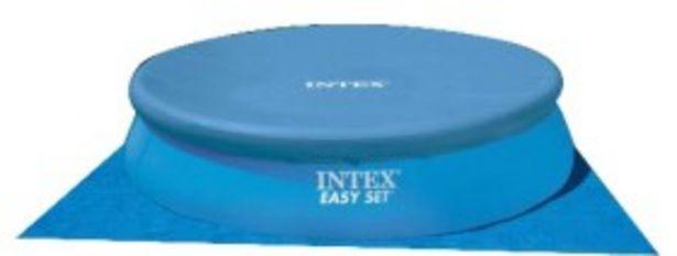 Oferta de Pileta Inflable Redonda de Lona de 14141 Litros INTEX por $89999