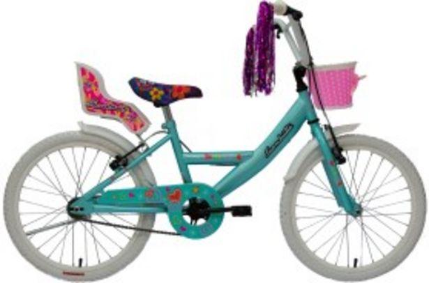 Oferta de Bicicleta Cros 15167 Rodado 20 Verde SIAMBRETTA por $19299