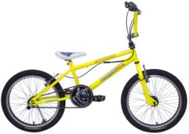 Oferta de Bicicleta Freestyle Fluo Amarillo Rodado 20 SIAMBRETTA por $22999