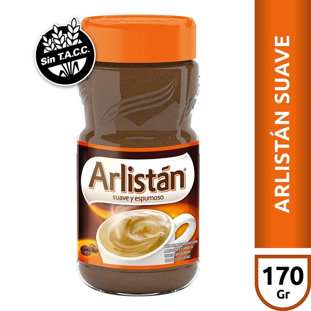 Oferta de Infusión Suave a Base de Café Arlistán 170 Gr por $301,2