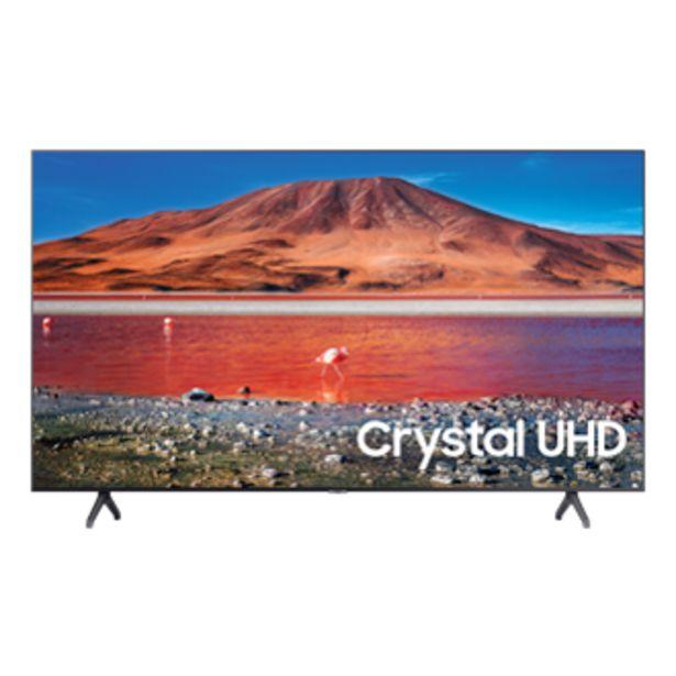 """Oferta de 58"""" Crystal UHD 4K TV TU7000 por $969,99"""