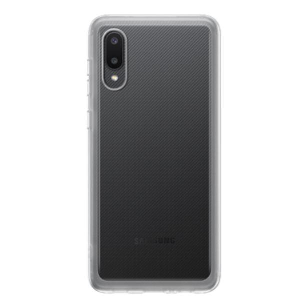 Oferta de Soft Clear Cover para Galaxy A02 por $12,79