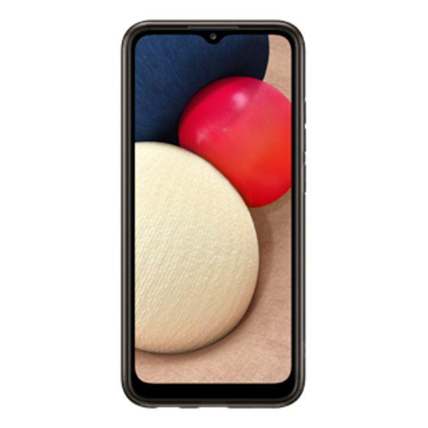 Oferta de Soft Clear Cover para Galaxy A02s por $11,89
