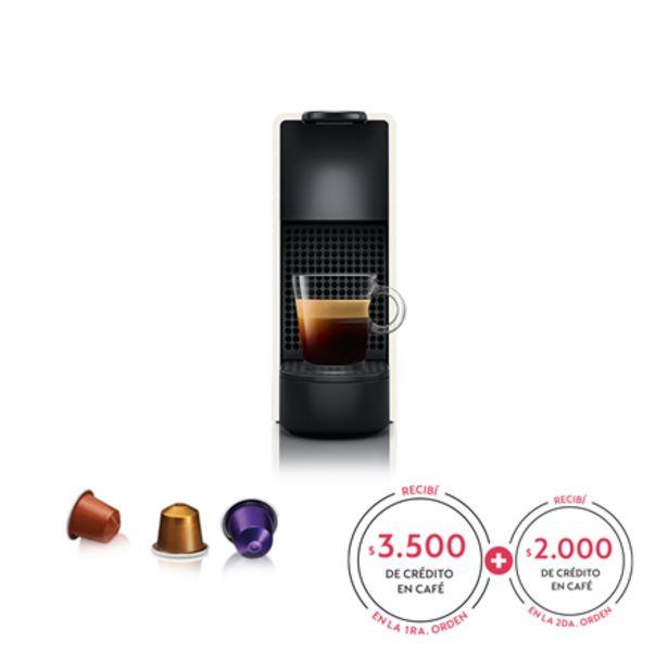 Oferta de Cafetera Nespresso Essenza Mini C30 Blanca por $21990