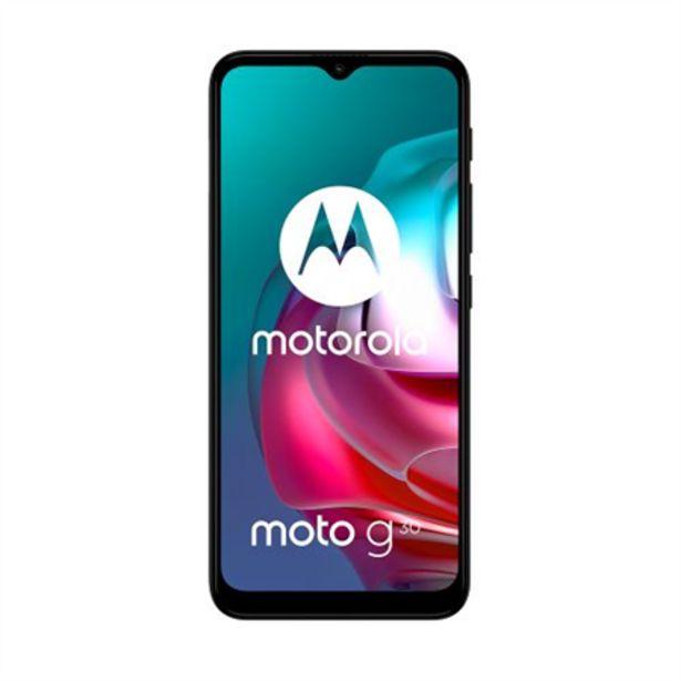 Oferta de Celular Motorola G30 128GB Gris por $38835