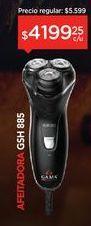 Oferta de Afeitadora Inalambrica Master Gsh 885 por $4199,25
