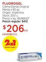 Oferta de Crema Dental Original Menta x 60 gr. por $412