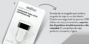 Oferta de Cargador De Auto Triple Usb 12V/24V. por