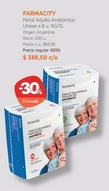Oferta de Pañal Adulto Anatómico Unisex x 8 u. por $388,5