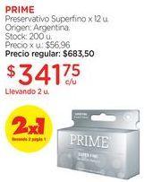 Oferta de Preservativo Superfino x 12 u. por $683,5