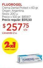 Oferta de Crema Dental Protect x 60 gr. por $515,5