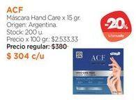Oferta de Máscara Hand Care x 15 gr. por $304