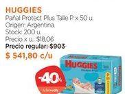 Oferta de Pañal Protect Plus Talle P x 50 u. por $541,8