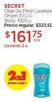 Oferta de Clear Gel Fresh Lavender. por $323,5