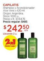Oferta de Shampoo y Acondicionador Aloe Vera x 420 ml. por $485