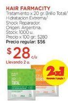 Oferta de Tratamiento x 20 gr. por $56