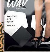 Oferta de Media 3/4 lycra pack x 2. por