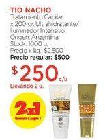 Oferta de Tratamiento Capilar x 200 gr. por $500