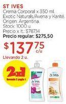 Oferta de Crema Corporal x 350 ml. por $275,5