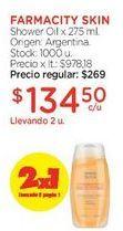 Oferta de Shower Oil x 275 ml. por $269