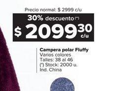 Oferta de Campera polar Fluffy por $209930