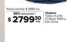 Oferta de Chaleco por $2799