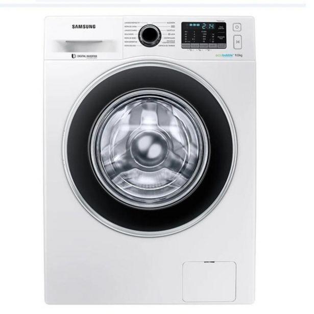 Oferta de Lavarropas Samsung Carga Frontal 9 kilos 1400 RPM inverter por $79000