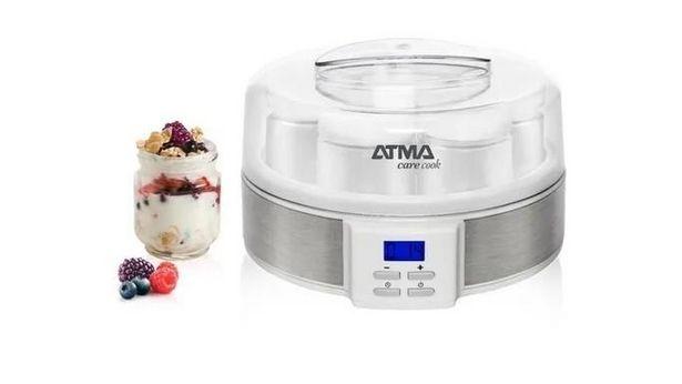 Oferta de Yogurtera Atma 7 jarro de vidrio digital por $7690