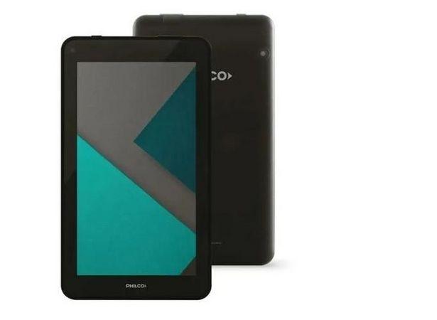 "Oferta de Tablet Philco 7"" 1 Gb RAM 16 GB android 10 por $7399"