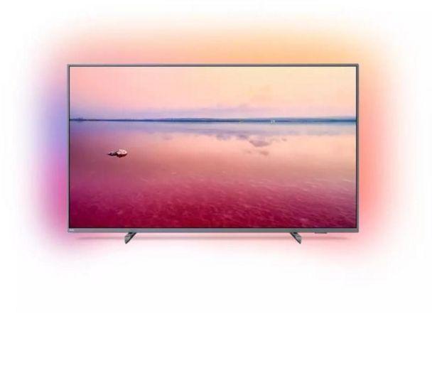 "Oferta de Televisor Phillips 65"" smart 4K UHD Ambilight por $122999"