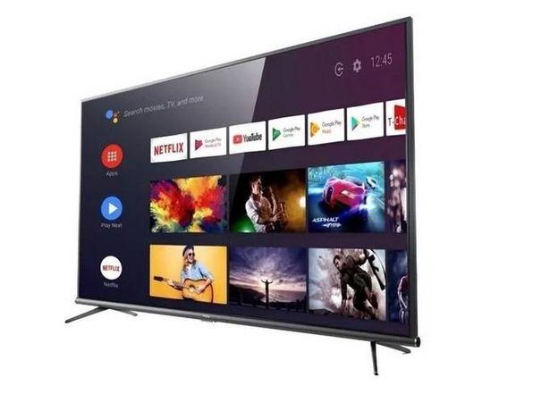 "Oferta de Televisor Smart TV TCL 50"" 4K android por $76999"