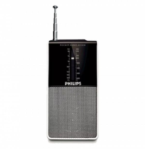 Oferta de RADIO PORTATIL AM FM PHILIPS AE1530 por $1999,9