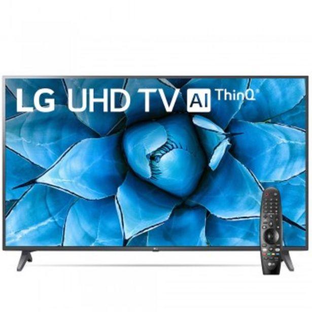 Oferta de SMART TV 60 LG AI THINQ 60UN7310 UHD por $109999,9