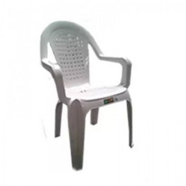 Oferta de SILLA PLASTICA PINO JARDIN Y EXTERIORES BLANCA APILABLE por $1869,9