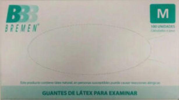 Oferta de Guantes de Latex Talle M x 100 Unidades Descartables por $1349,96